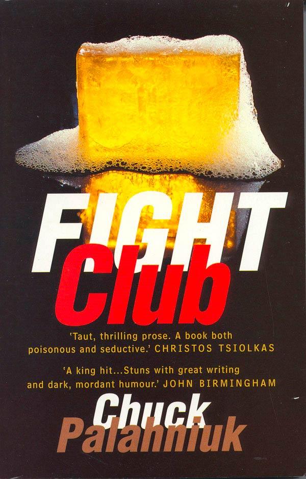 """Libro original """"El Club de la Lucha"""" de Chuck Palahniuk"""