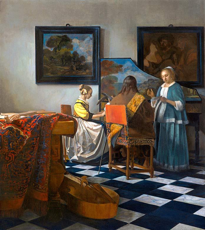 El concierto de Johannes Vermeer