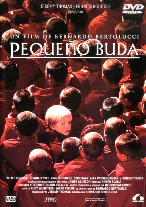 """Póster de la película """"El pequeño Buda"""", 1993"""