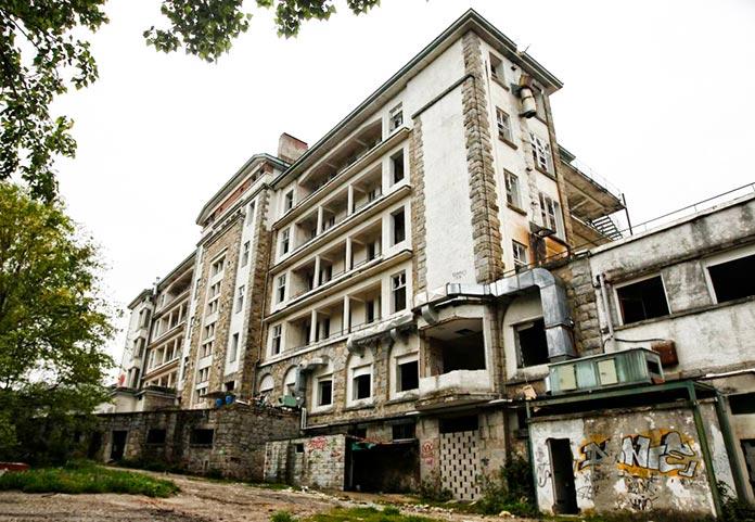 El sanatorio de la Marina