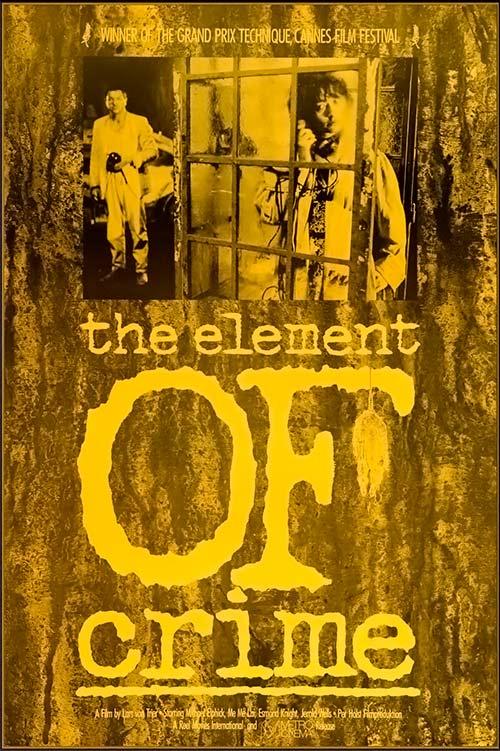 película The Element of Crime de Lars Von Trier