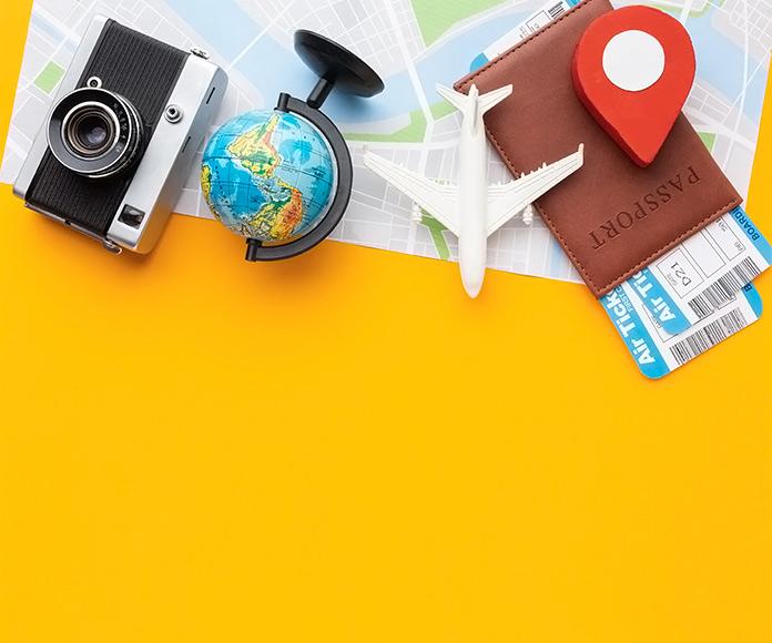 elementos de viaje