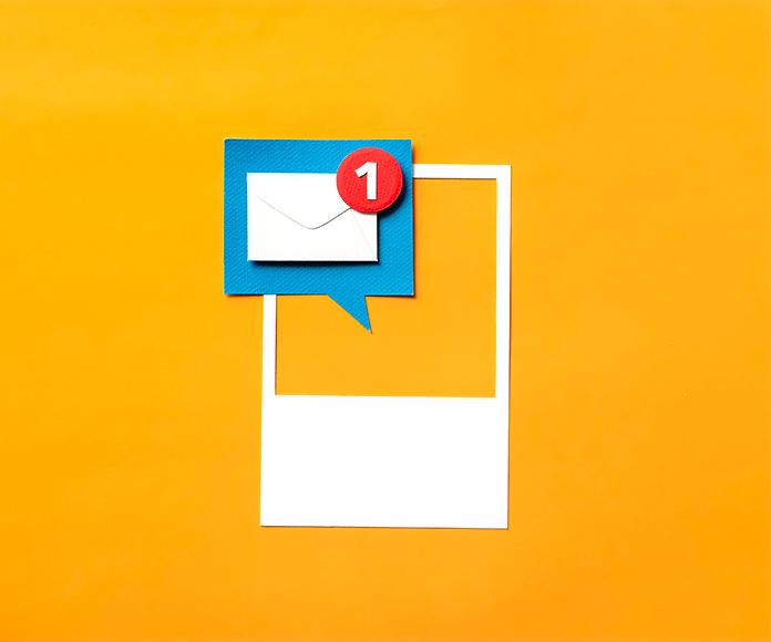 icono de email recibido