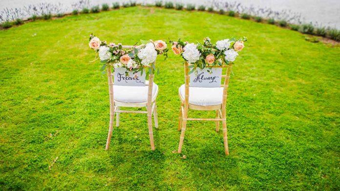 mobiliario de boda