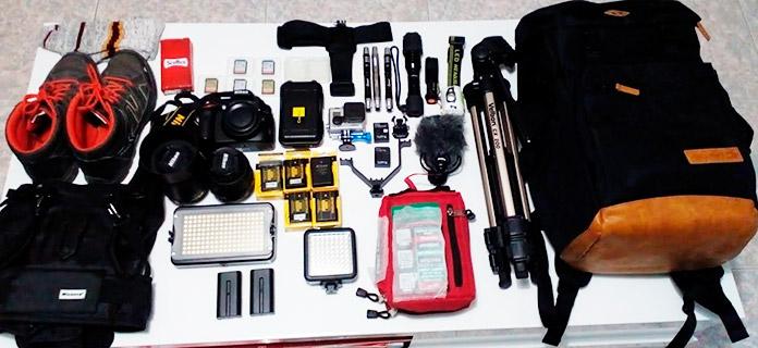 Equipos y herramientas necesarios para la exploración urbana