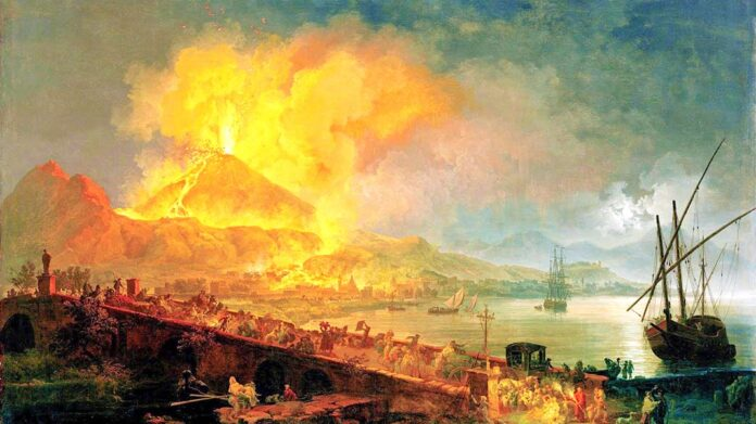 La erupción del Vesubio causó la vaporización instantánea de los fluidos corporales de sus víctimas