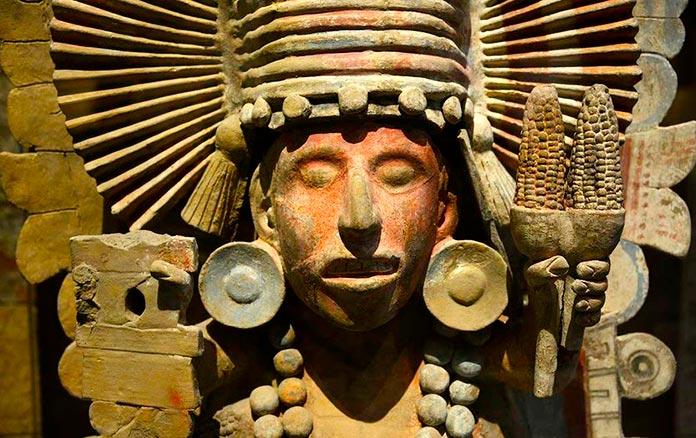Escultura de la diosa Xilonen