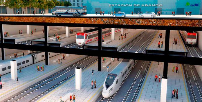 La estación del Ave en Bilbao será la más cara de España.