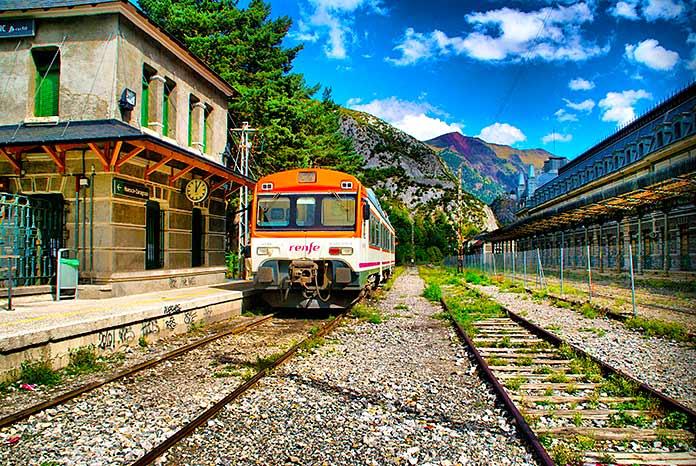 Estación de tren de Confranc