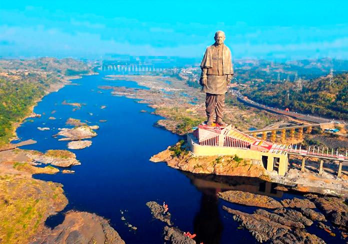 Curiosidades sobre la estatua de Sardar Patel, la más grande del mundo