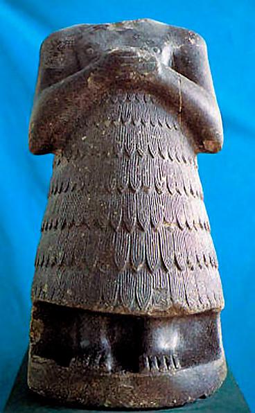 Estatua del rey sumerio Entemena de Lagash