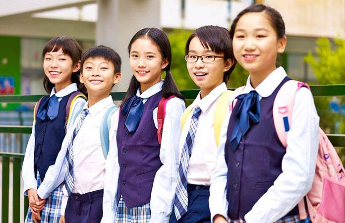 estudiantes de Singapur