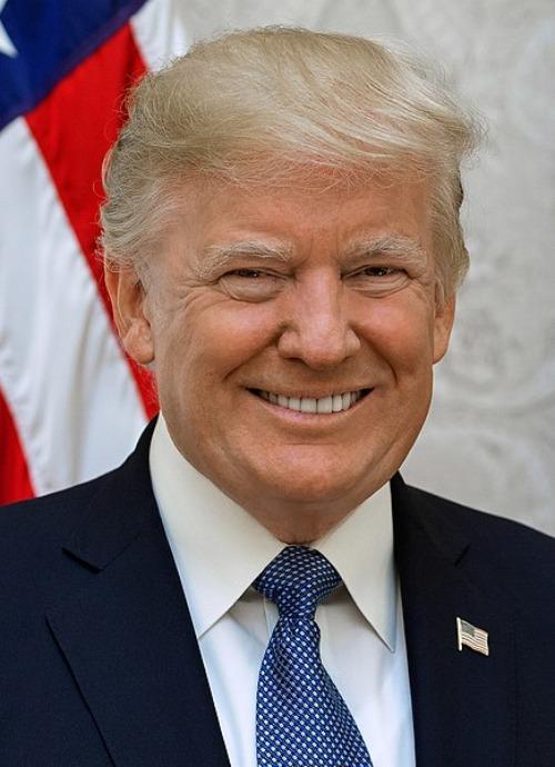 Estudios cursados por políticos famosos - Donald Trump