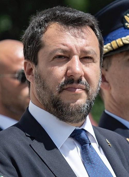 Estudios cursados por políticos famosos - Matteo Salvini