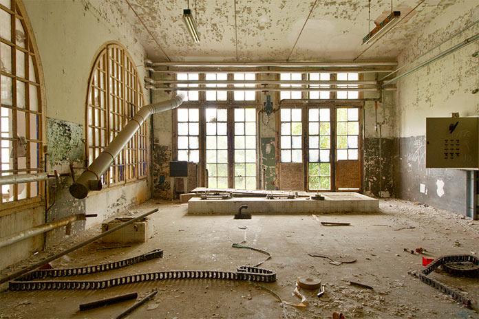Fábricas abandonadas