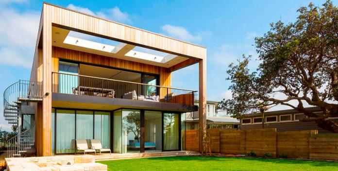Fachadas modernas de viviendas