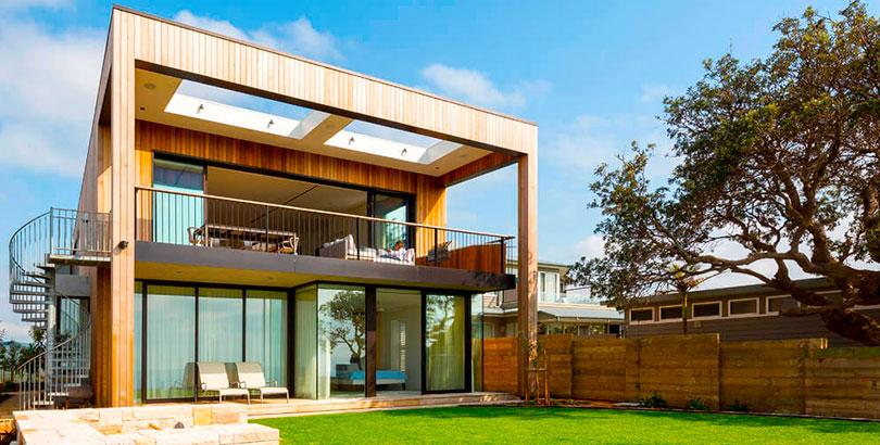 Tendencias modernas en fachadas de viviendas cinco noticias for Fachadas de viviendas