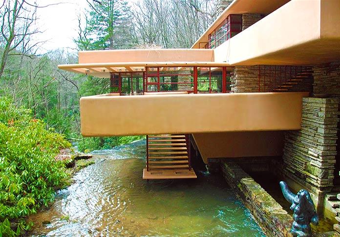 Terraza de la Casa de la Cascada