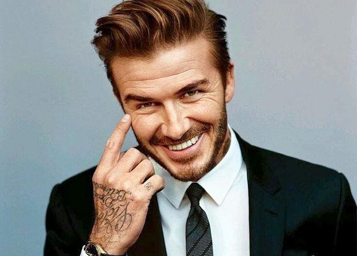 Famosos con TOC: David Beckham