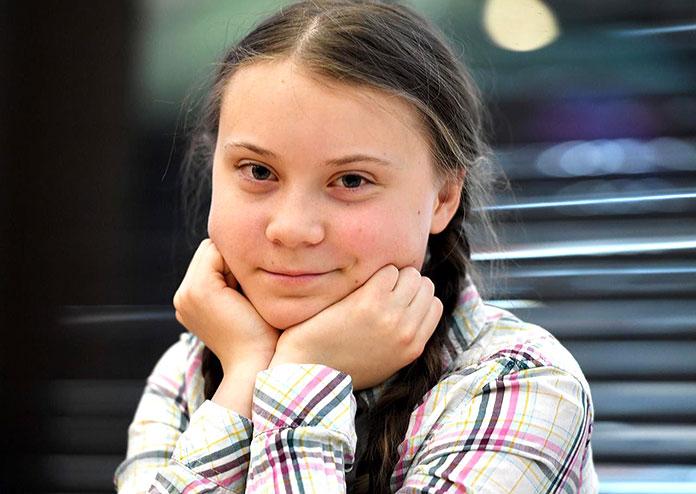 Famosos con trastornos mentales curiosos: Greta Thunberg