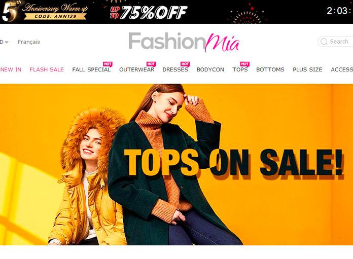 Web de Fashionmia