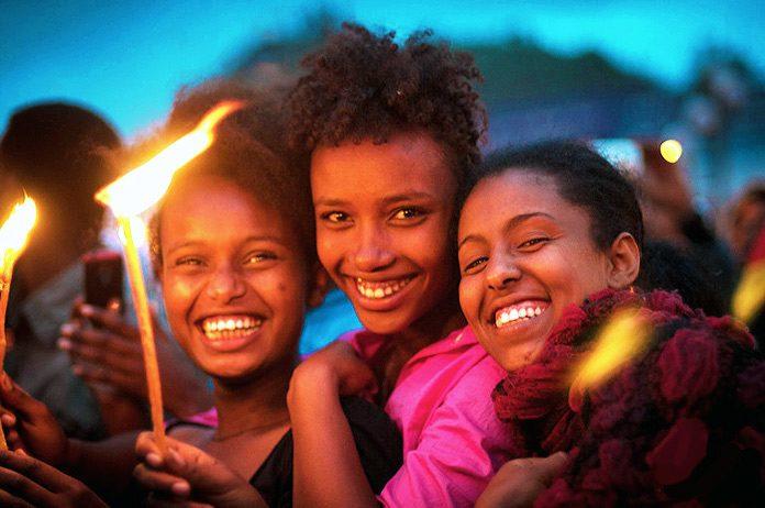 El festival Meskel, la fiesta etíope del fuego