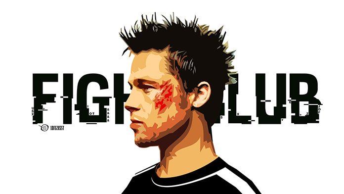 Foto promocional de la película El Club de la Lucha (David Fincher, 1999)