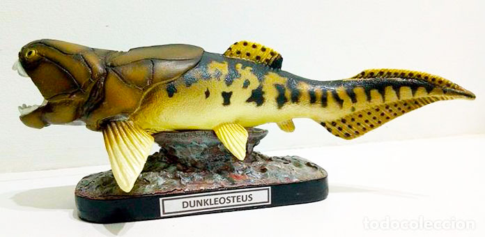 Figura de un Dunkleosteus