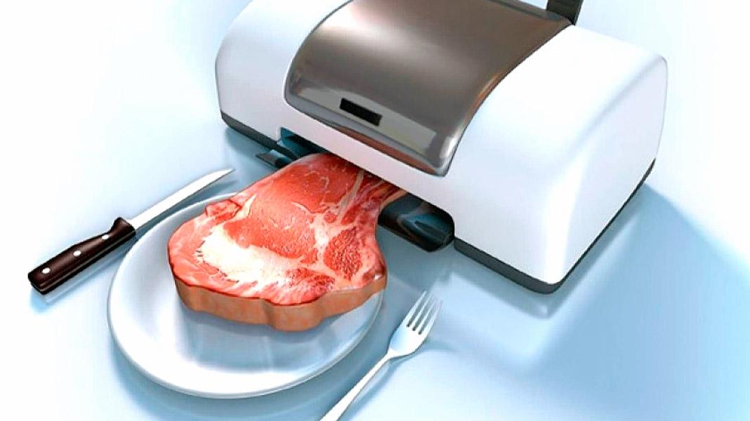 Así es el primer filete vegano impreso en 3D