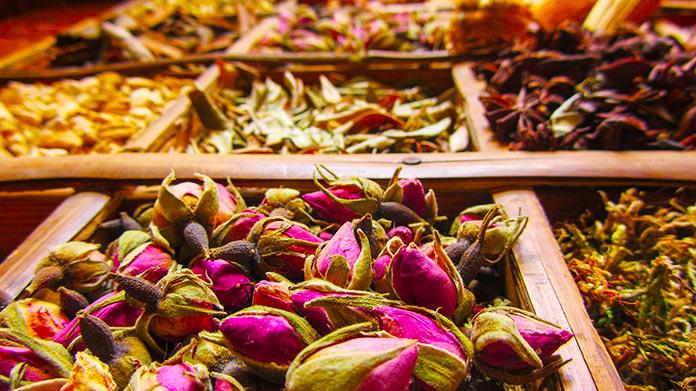 Flores para preparar perfume
