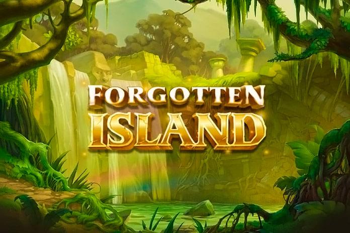 pantalla de presentación del juego online Forgotten Island