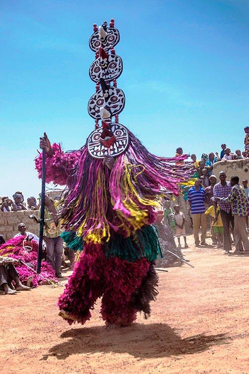 Máscara del pueblo Bwa, Burkina Faso