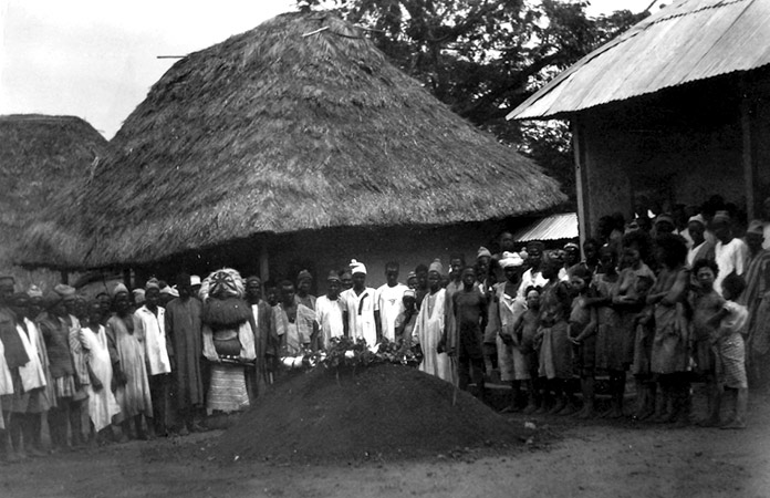 Funeral en  Panguma