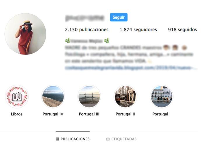Fotos de perfil en Instagram