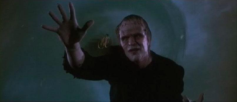 Personaje de Frankenstein de la película Una Pandilla Alucinante