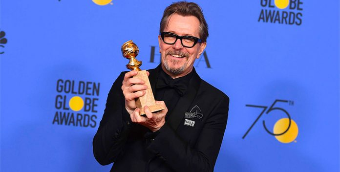 Gary Oldman a un paso del Oscar como mejor actor.