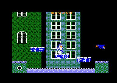 Plataformas flotantes del juego arcade Ghosts'n Goblins