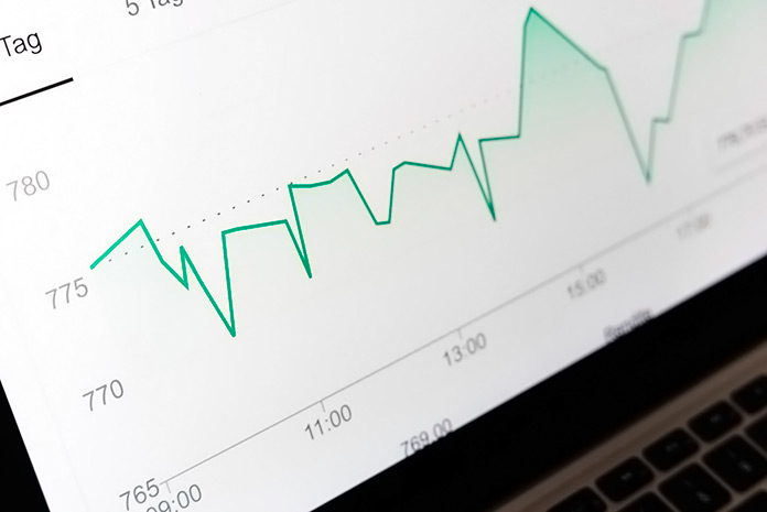 gráfica de finanzas personales