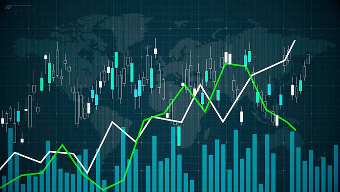 Gráfica de tendencias para predecir el comportamiento del mercado de divisas