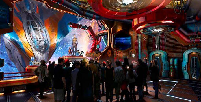 Los Guardianes de la Galaxia, la nueva montaña rusa de Epcot Center.