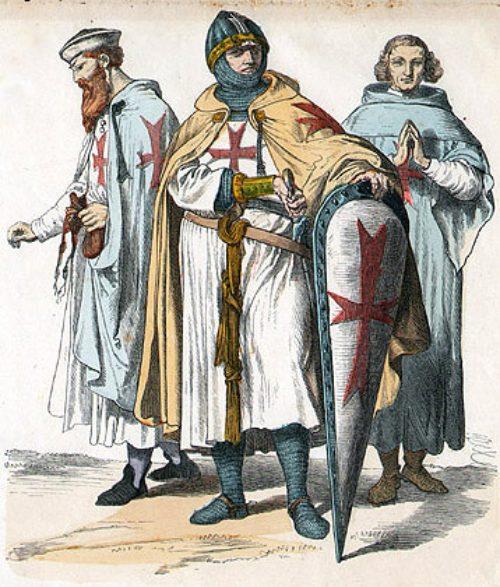 Guerreros medievales: Caballeros templarios