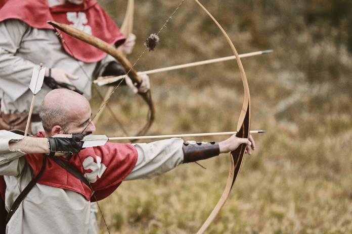 Guerreros medievales: arqueros