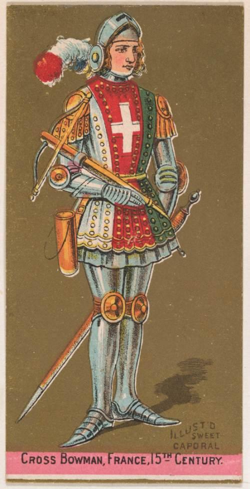 Guerreros medievales: ballesteros