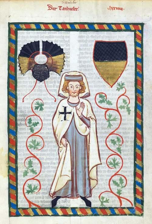 Guerreros medievales: caballero teutonico