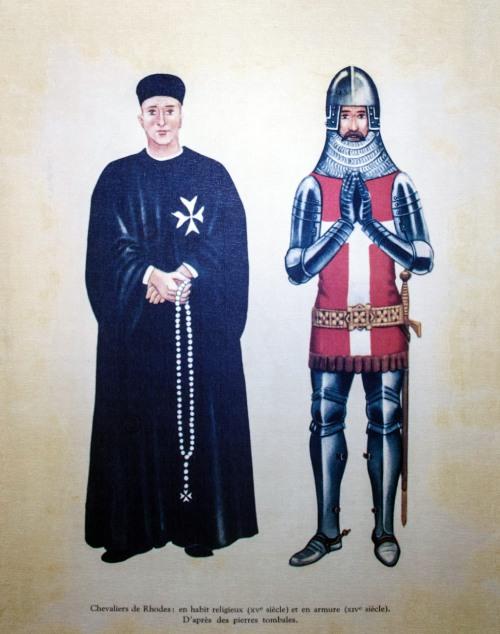 Guerreros medievales: caballeros hospitalarios