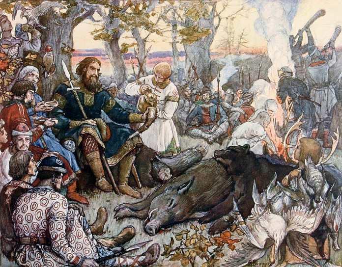 Guerreros medievales: Druzhinas