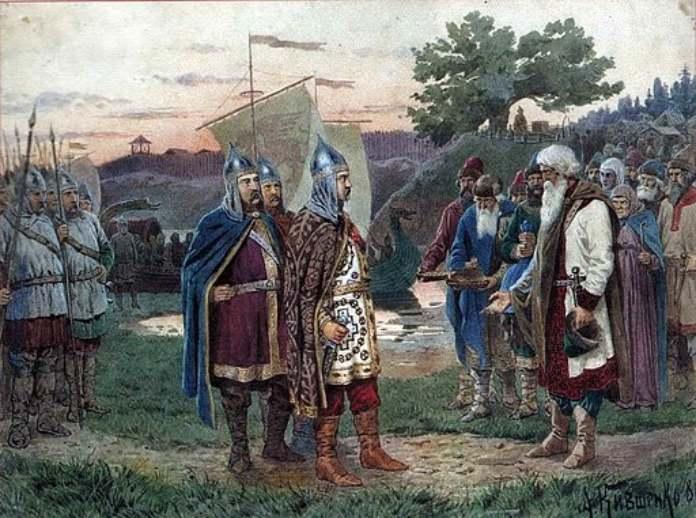 Guerreros medievales: Guardia Varega