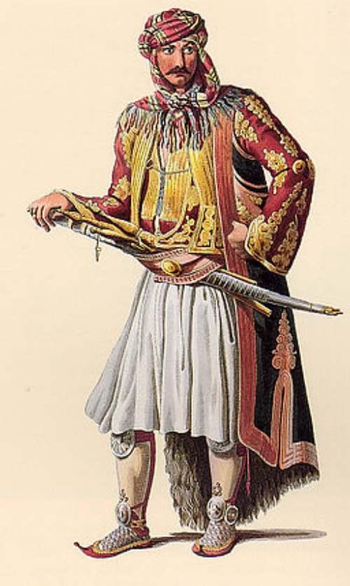 Guerreros medievales: jenizaro