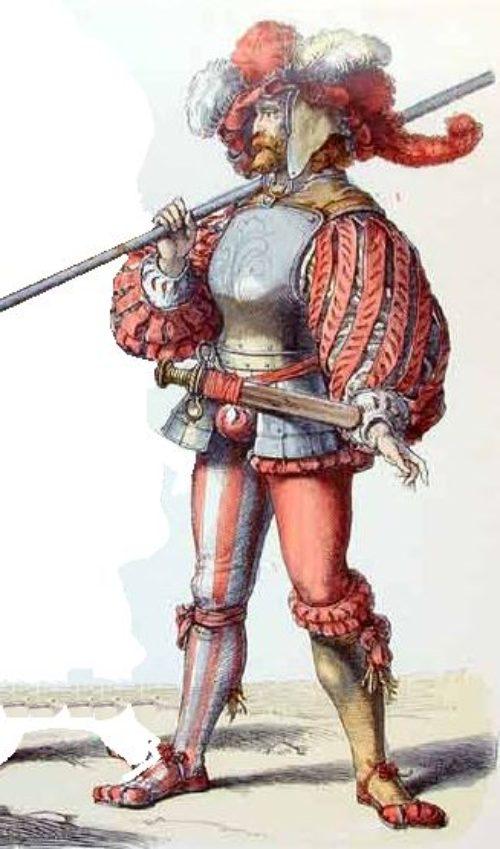 Guerreros medievales: Landsknecht