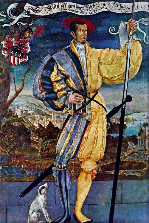 Guerreros medievales: Niklaus Manuel